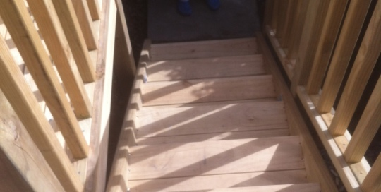 TGB Licensed Builders Deck Stairs