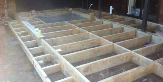 TGB Licensed Builders New Decking