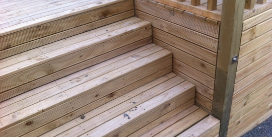 TGB Licensed Builders New Decking