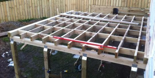 TGB Licensed Builders Sub-Floor Structure